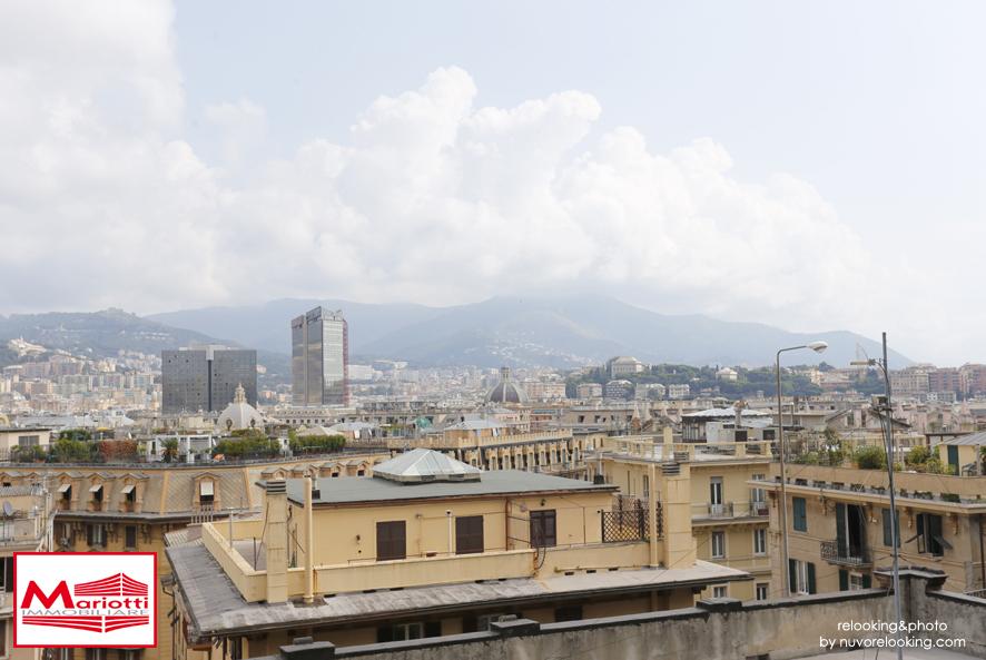 Albaro – Via C. Rossi vani 8 mq. 120